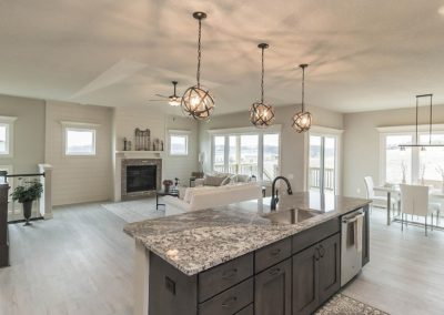 kitchen living room 1